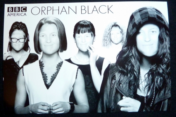 Orphan Black - to cover even half of Comic-Con, I need to be Cloned!