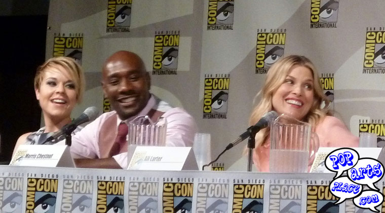 Cast of Legends at San Diego's Comic-Con International 2014