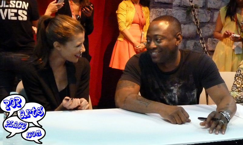 Resurrection Cast Signing at the ABC booth