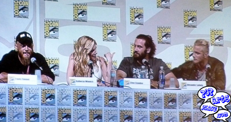Vikings Cast at San Diego Comic Con International 2014