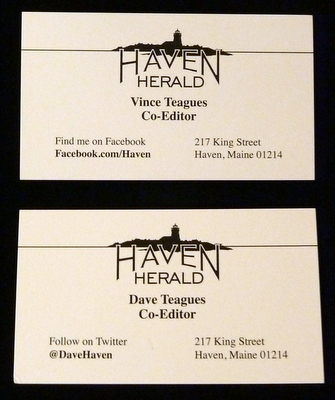 Haven Biz Cards