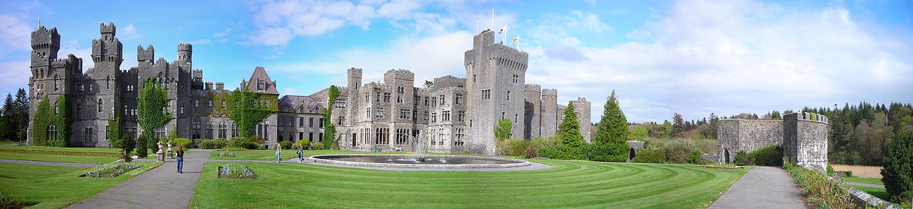 Ashford Castle, County Mayo Ireland - used for Castle exteriors in the pilot of Reign