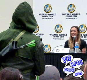 Arrow Asks Katie Cassidy Question