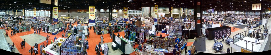C2E2 2015 Exhibit Hall Floor